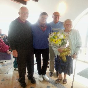 Congratulations to Geoff & Pat Celebrating their Diamond Wedding Anniversary