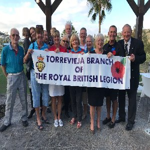 Some of the Eurogolf Society Members who attended the RBL Poppy Day Brunch