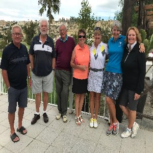 Winners (October Stableford Inc Jubilee Trophy) 18th October 2018